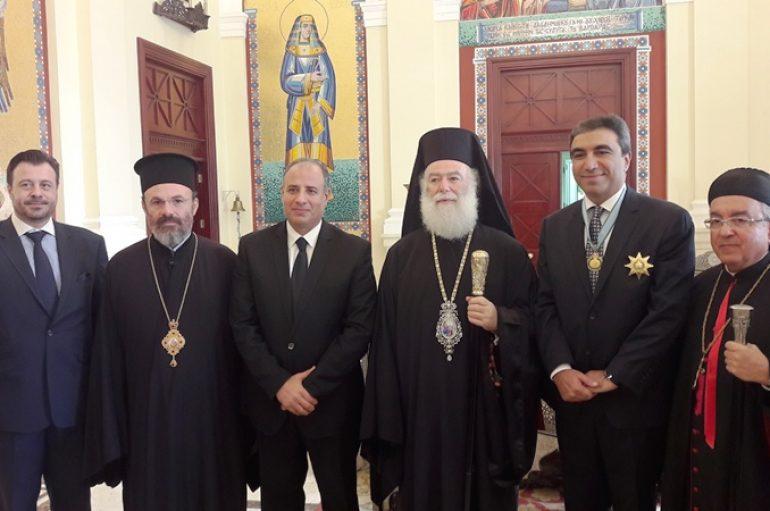 Ο Πατριάρχης Αλεξανδρείας τίμησε το Διπλωματικό Σώμα της Αλεξάνδρειας