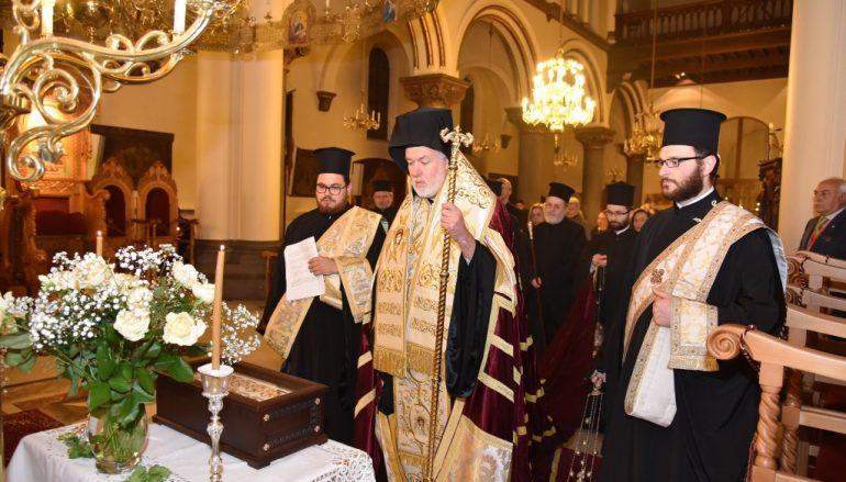 Υποδοχή Ιερών Λειψάνων στον Μητροπολιτικό Ναό Βρυξελλών (ΦΩΤΟ)