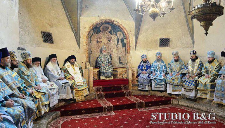 Την Πρωτεύουσα της Ρωσίας επισκέφθηκε ο Μητροπολίτης Αργολίδος (ΦΩΤΟ)