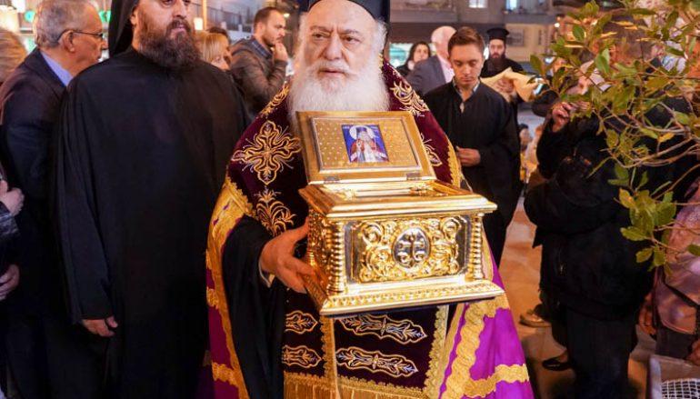 Πανηγύρισε ο Ι. Ναός του Αγίου Μεγαλομάρτυρος Μηνά στην Νάουσα (ΦΩΤΟ)