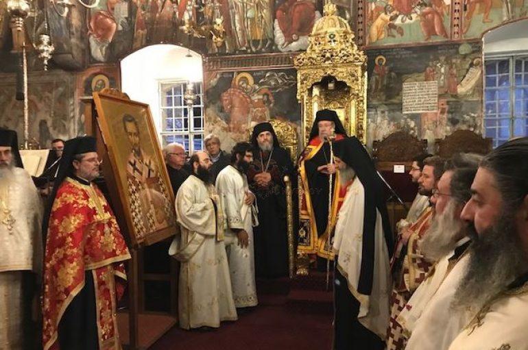 Εσπερινός Ονομαστηρίων του Αρχιεπισκόπου Κύπρου (ΦΩΤΟ)