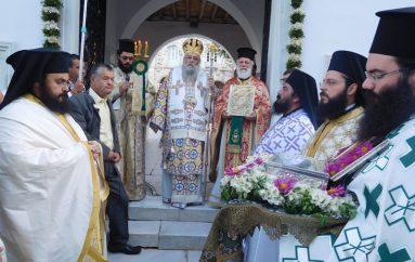 Η εορτή της Αγίας Θεοκτίστης και του Αγίου Νεκταρίου στην Πάρο (ΦΩΤΟ)