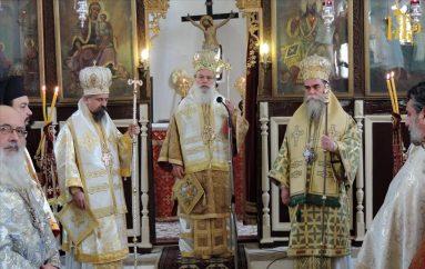 Πολυαρχιερατικό Συλλείτουργο για τον Άγιο Δαμασκηνό τον Στουδίτη στην Άρτα