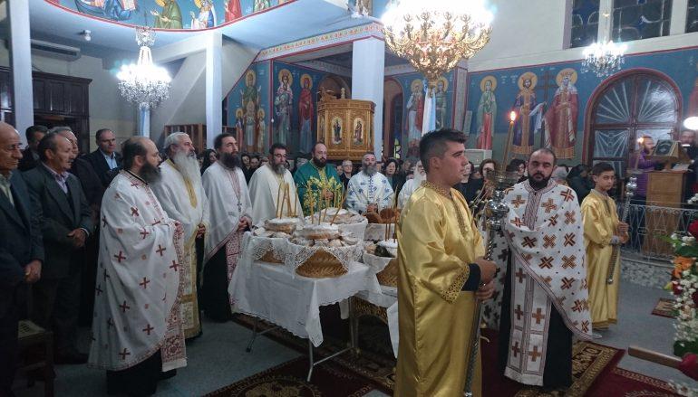 Εσπερινός του Αγίου Χρυσοστόμου στην Ι. Μ. Αιτωλίας (ΦΩΤΟ)