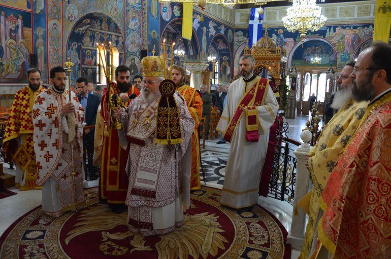 Πανηγύρισε ο Ιερός Ναός Αγίου Γεωργίου Καρέα Αττικής (ΦΩΤΟ)
