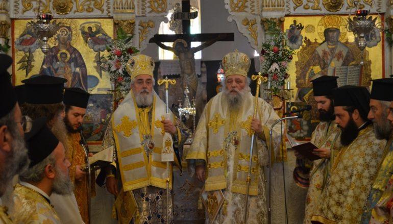 Η Νάξος πανηγύρισε την πολιούχο της Παναγία Χρυσοπολίτισσα (ΦΩΤΟ)
