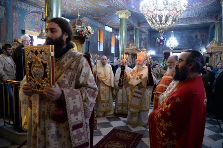Η εορτή του Αγίου Νεκταρίου στην Ι. Μητρόπολη Πατρών (ΦΩΤΟ)