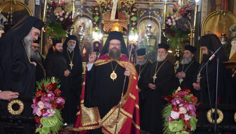 Αρχιερατικός εσπερινός των Εισοδίων της Θεοτόκου στη Σαλαμίνα (ΦΩΤΟ)