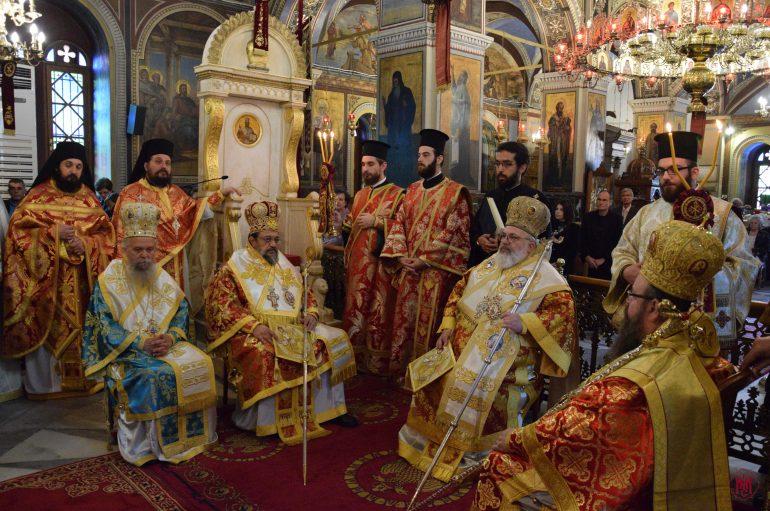 Η Σαλαμίνα εόρτασε τον Πολιούχο της Άγιο Μηνά (ΦΩΤΟ)