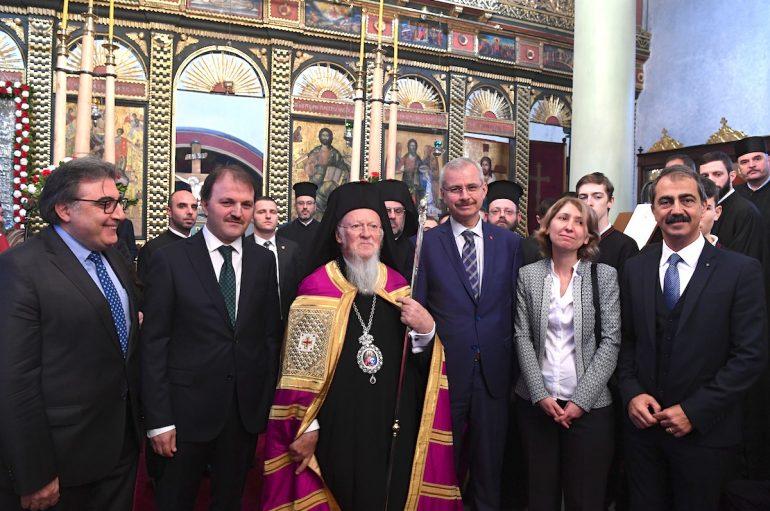 """Οικουμενικός Πατριάρχης: """"Δεν θα παύσωμεν να αγωνιζώμεθα"""""""