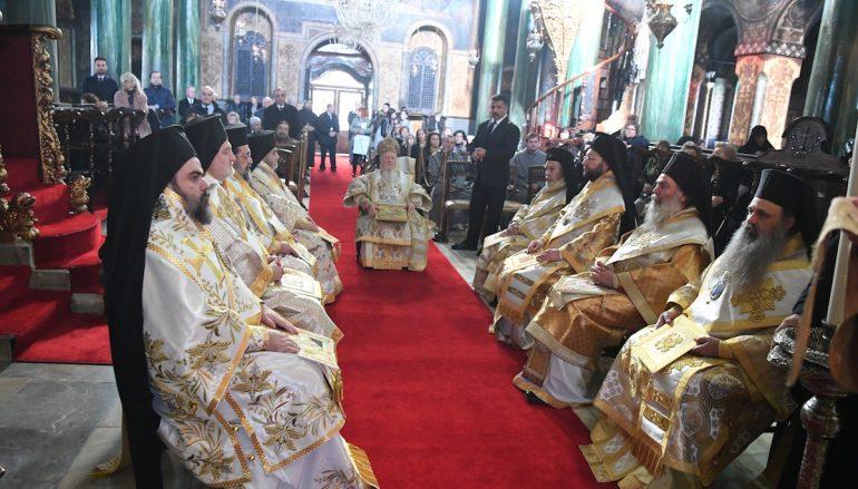 Οικ. Πατριάρχης: «Πασχίζομεν διά την προάσπισιν των δικαίων της Ρωμηοσύνης»