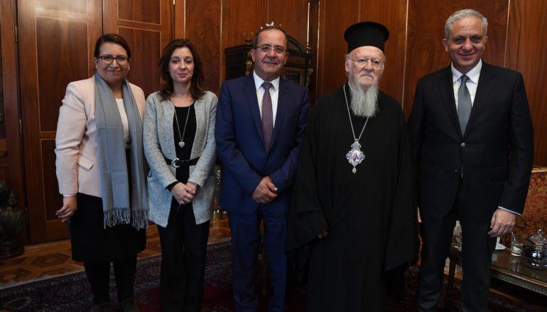Στον Οικουμενικό Πατριάρχη μέλη της Κυπριακής Βουλής (ΦΩΤΟ)