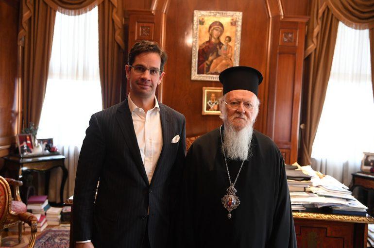 Επίσκεψη του Γενικού Προξένου της Ουγγαρίας στον Οικουμενικό Πατριάρχη
