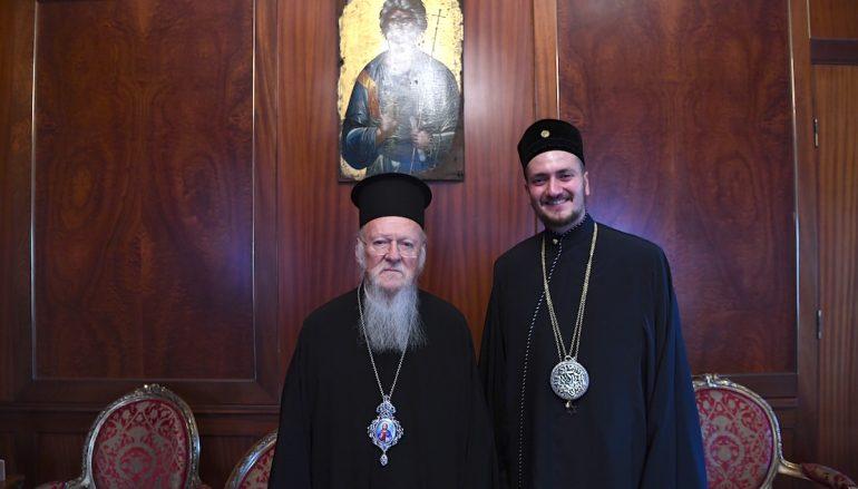 Επίσκεψη του Αρχιραββίνου Αθηνών στο Οικουμενικό Πατριαρχείο