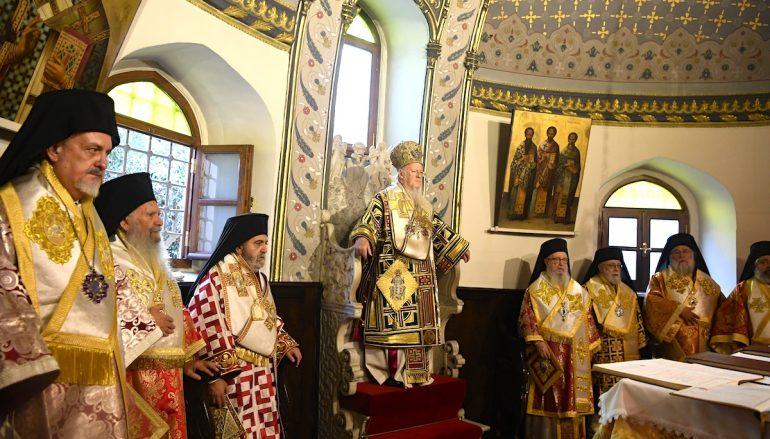 Το Οικ. Πατριαρχείο τίμησε τον ιδρυτή του Άγιο Απόστολο Ανδρέα (ΦΩΤΟ)