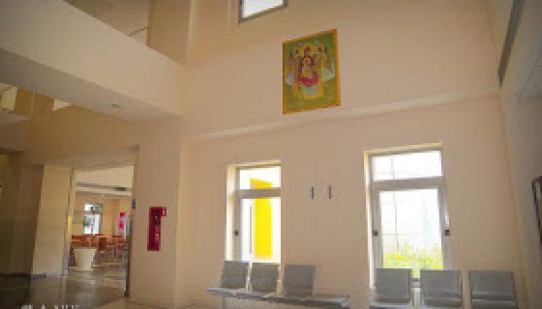 Η Εικόνα της Πλατυτέρας των Ουρανών δεσπόζει στο Νοσοκομείο Βόλου