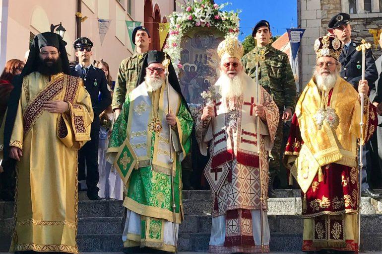 Η Εορτή των Εισοδίων της Θεοτόκου στη Λιβαδειά (ΦΩΤΟ)