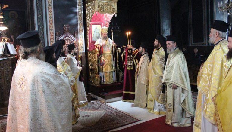 Η εορτή του Αγίου Γρηγορίου και του Αγίου Αμφιλοχίου στην Ι. Μ. Θεσσαλιώτιδος