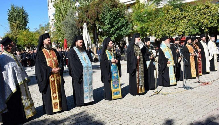 Η εορτή των Ενόπλων Δυνάμεων στην Χαλκίδα (ΦΩΤΟ)