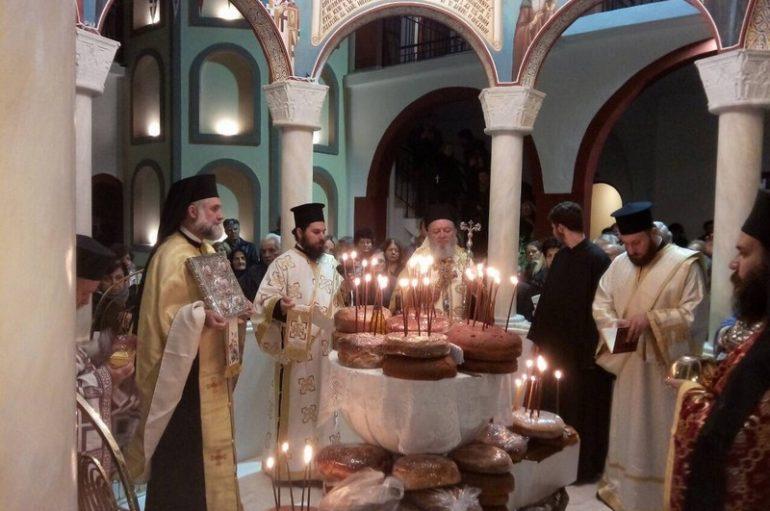 Πανηγύρισε η Ι. Μονή Οσίου Δαυίδ του Γέροντος στην Χαλκίδα (ΦΩΤΟ)