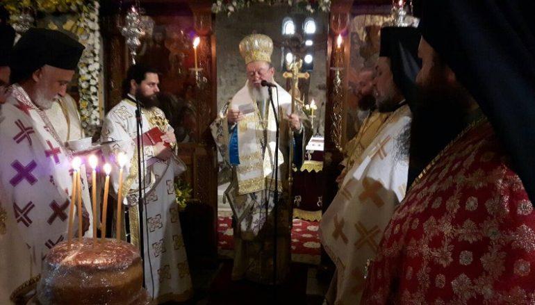 Πανηγύρισε η Ι. Μονή Αγίου Γεωργίου Αρμά Ευβοίας (ΦΩΤΟ)