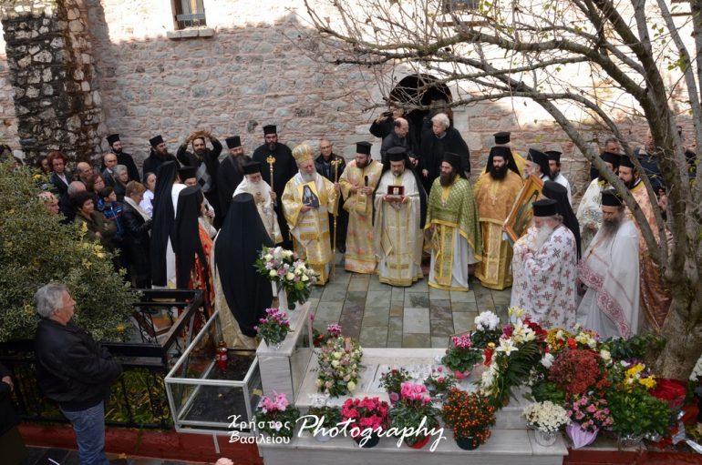 Η πρώτη Λατρευτική Σύναξη για τον Άγιο Ιάκωβο Τσαλίκη στην Ι. Μ. Οσίου Δαβίδ