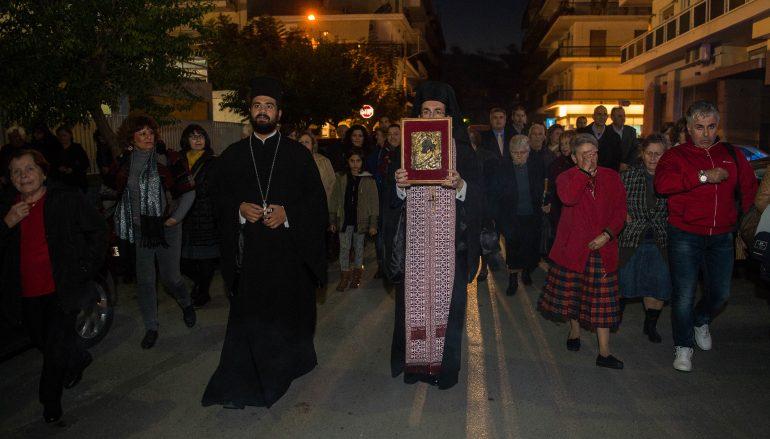Την Παναγία Χρυσοκελλαριώτισσα υποδέχθηκε η Καλαμάτα (ΦΩΤΟ)