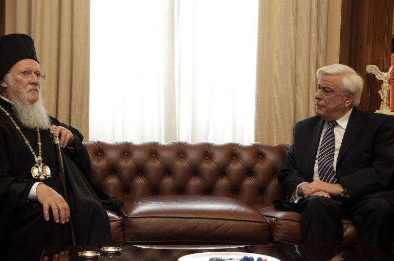 Μηνύματα του Οικ. Πατριάρχη προς τον ΠτΔ και τον Πρωθυπουργό της Ελλάδας