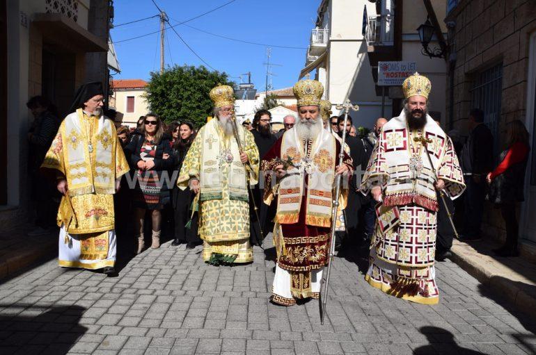 Η εορτή του Αγίου Νεκταρίου στο νησί της Αίγινας (ΦΩΤΟ)
