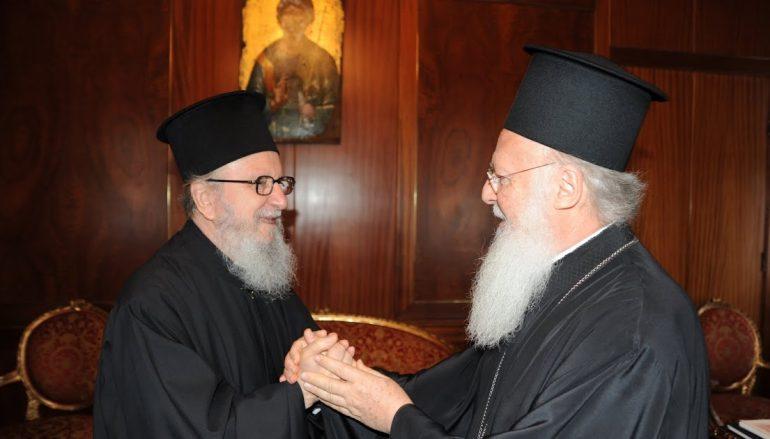 Το Οικ. Πατριαρχείο στηρίζει τον Γέροντα Αμερικής Δημήτριο