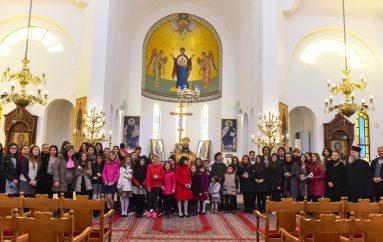 Αρχιερατική Θ. Λειτουργία για τα παιδιά των Κατηχητικών στην Ι. Μ. Λαγκαδά (ΦΩΤΟ)