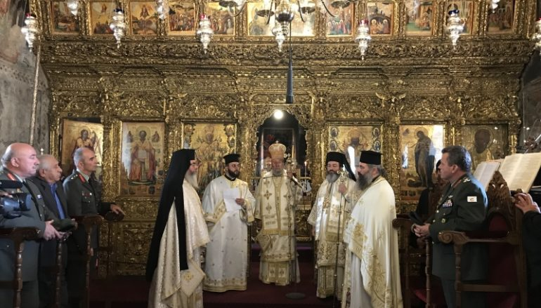 Τα ονομαστήριά του εόρτασε ο Αρχιεπίσκοπος Κύπρου (ΦΩΤΟ)