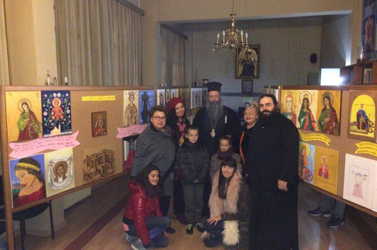 Ολοκληρώθηκε η παιδική έκθεση ζωγραφικής στην Ι. Μ. Κίτρους (ΦΩΤΟ)