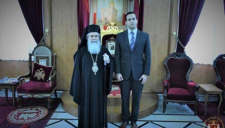 Επίσκεψη αντιπροσώπου της Ουγγαρίας στο Πατριαρχείο Ιεροσολύμων