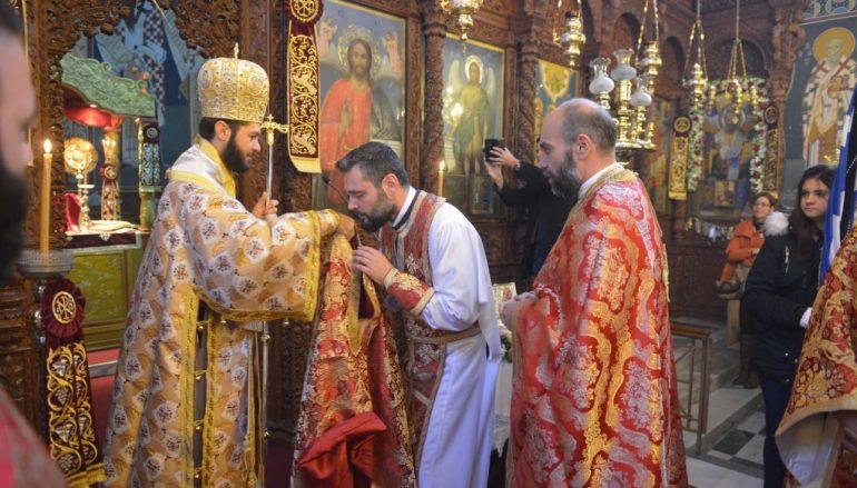 Χειροτονία Πρεσβυτέρου από τον Επίσκοπο Ολύμπου (ΦΩΤΟ)