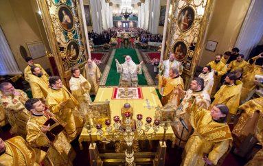 O Πατριάρχης Αλεξανδρείας στην Αγία Πετρούπολη (ΦΩΤΟ)