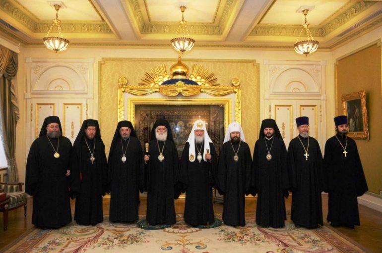 Συνάντηση των Προκαθημένων Αλεξανδρείας και Ρωσίας (ΦΩΤΟ)
