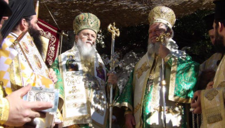 Πανηγύρισε η Ι. Μονή Οσίου Παταπίου στο Λουτράκι (ΦΩΤΟ)