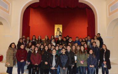 Μαθητές Γυμνασίου επισκέφθηκαν τον Μητροπολίτη Κορίνθου (ΦΩΤΟ)