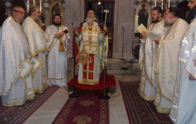 Θεία Λειτουργία του Αγίου Ιακώβου του Αδελφοθέου στην Κόρινθο (ΦΩΤΟ)