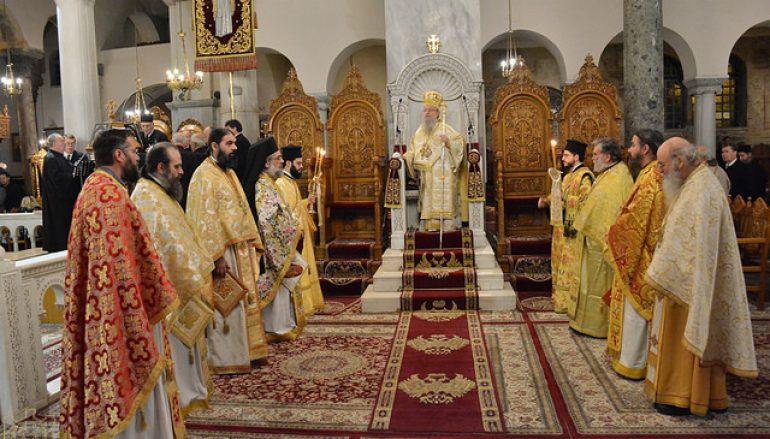 Η εορτή των Χριστουγέννων στην Ι. Μ. Θεσσαλονίκης (ΦΩΤΟ)