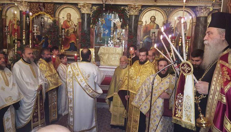 Πανηγύρισε ο Ι. Ναός Γεννήσεως του Χριστού Μολάων (ΦΩΤΟ)