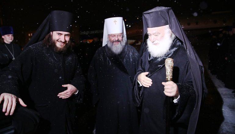 Ο Πατριάρχης Αλεξανδρείας στο Αικατερίνμπουργκ της Σιβηρίας (ΦΩΤΟ)