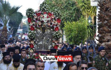 Τον Πολιούχο του Άγιο Σπυρίδωνα τίμησε το Μεσολόγγι (ΦΩΤΟ)