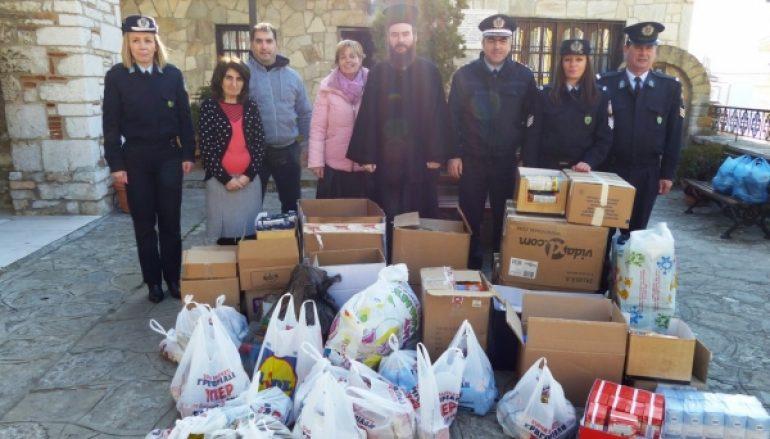 Μήνυμα αγάπης και αλληλεγγύης έστειλε η Αστυνομία Καστοριάς (ΦΩΤΟ)