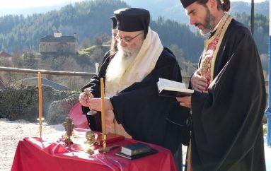 Αγιασμός σε φυλάκιο στα ελληνοαλβανικά σύνορα (ΦΩΤΟ)