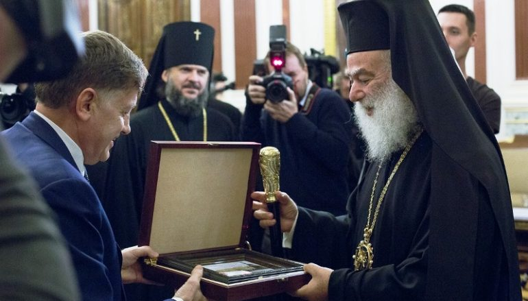Ο Πατριάρχης Αλεξανδρείας στη Ναυτική πόλη της Κροστάνδης (ΦΩΤΟ)