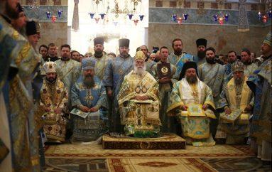 Πατριαρχικό Συλλείτουργο στην Ι. Μονή Αγίου Αλεξάνδρου Νιέφσκυ (ΦΩΤΟ)