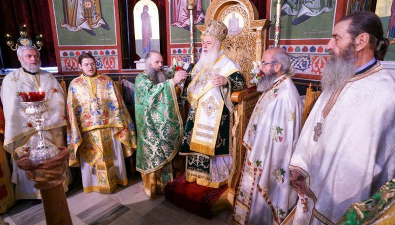 Η εορτή του Οσίου Πορφυρίου του Καυσοκαλυβίτου στην Αλεξάνδρεια (ΦΩΤΟ)