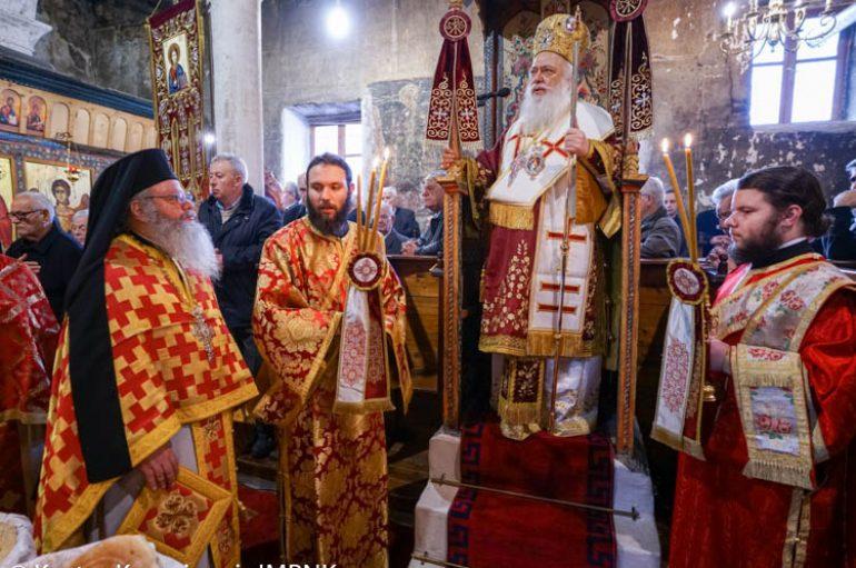 Πανηγύρισε ο Ιερός Ναός του Αγίου Στεφάνου στην Βέροια (ΦΩΤΟ)